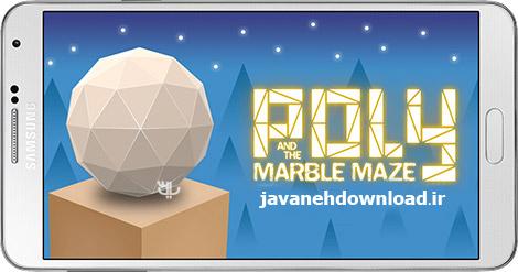 دانلود بازی Poly and the Marble Maze 1.1.3 – هدایت توپ برای اندروید