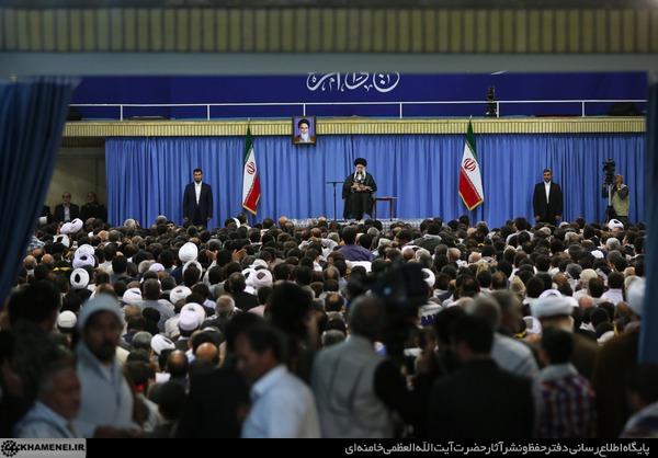 دیدار اقشار مختلف مردم با رهبر انقلاب اسلامی