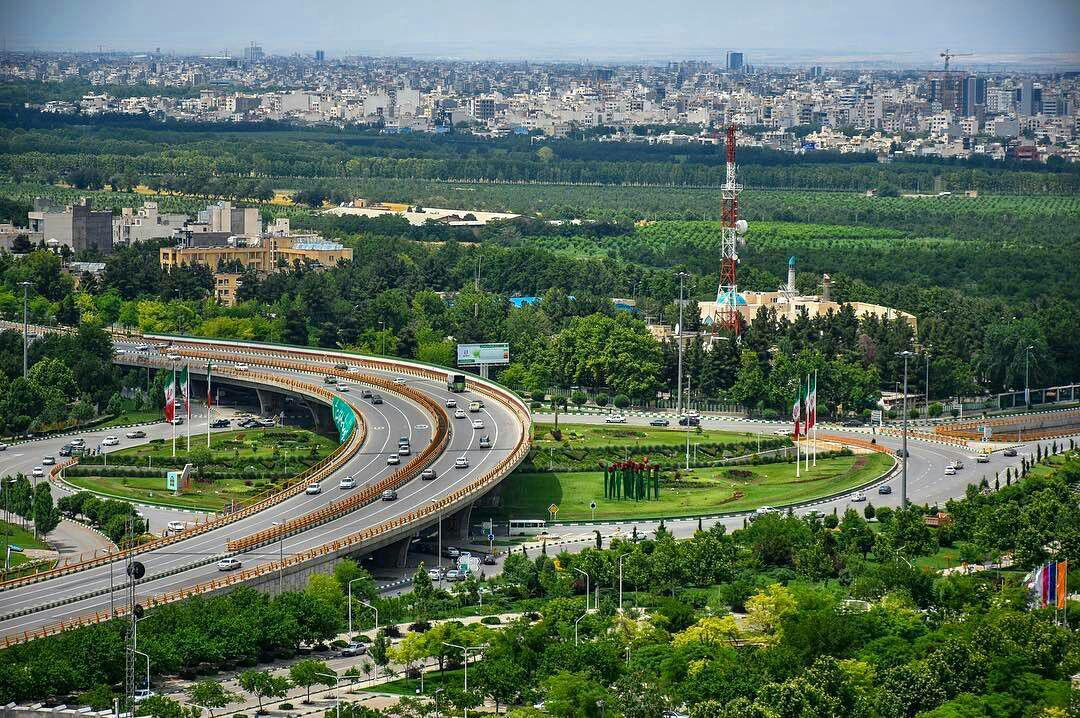 مروری بر پروژه های عمرانی شهرداری مشهد در سال ۹۵
