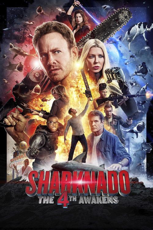 دانلود رایگان فیلم Sharknado 4: The 4th Awakens 2016