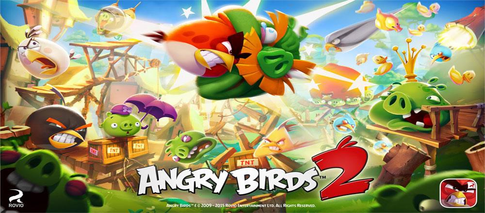 دانلود Angry Birds 2 2.8.3 – نسل دوم بازی پرندگان خشمگین اندروید + مود