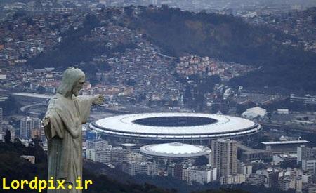 استادیوم المپیک ریو آماده برگزاری مراسم افتتاحیه المپیک 2016
