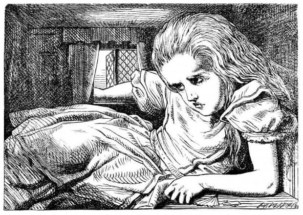 7. سندرم آلیس در سرزمین عجایب