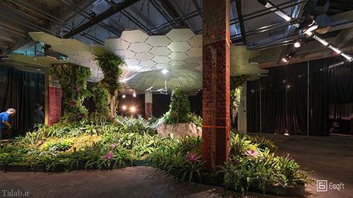 افتتاح اولین پارک زیر زمینی در آمریکا