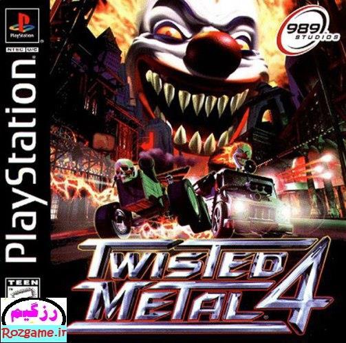 دانلود بازی Twisted Metal 4