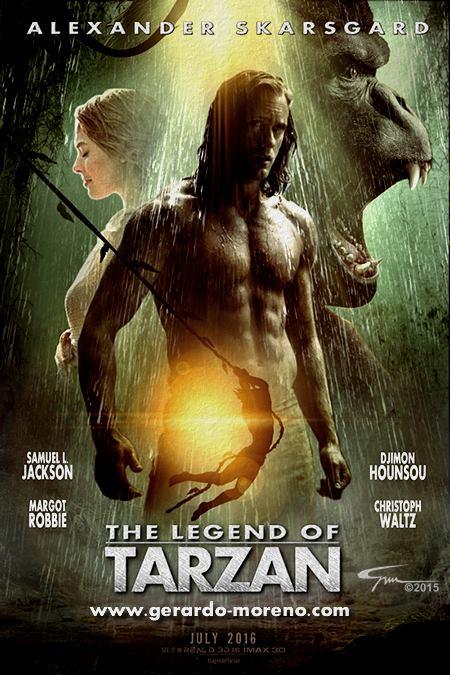دانلود رایگان فیلم The Legend Of Tarzan 2016