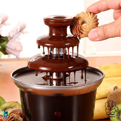 دستگاه طبقه ای شکلات آب کن