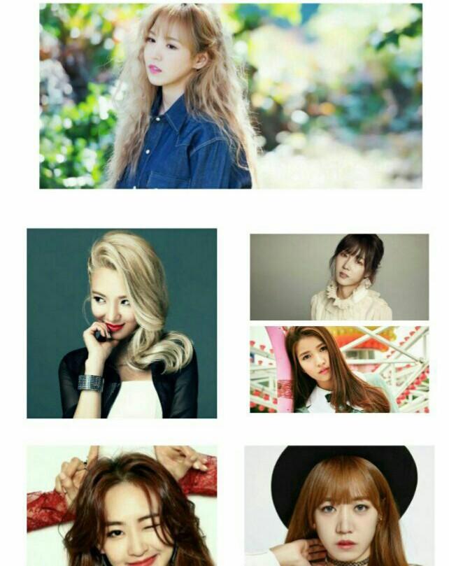 کدوم یک از اعضای گروه های کره ای دختر ،کمتر مشهور هستن🤔