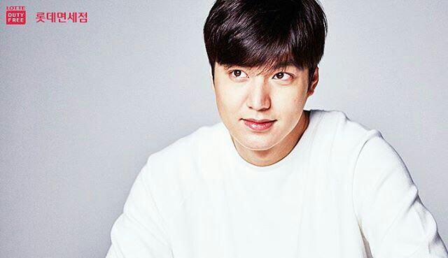 عکس های بازيگر جذاب کره ای لی مینهو براى Lotte Duty Free