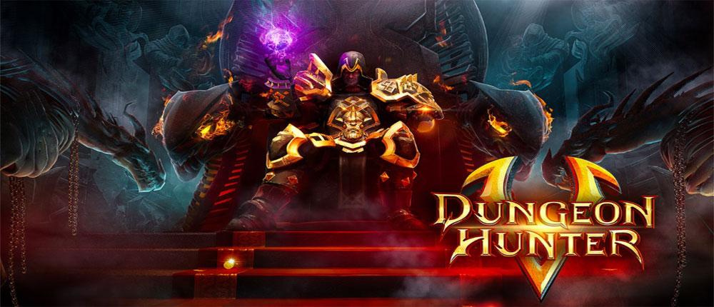 دانلود بازی اندروید شکارچی سیاه چال ۵ یا Dungeon Hunter 5-1