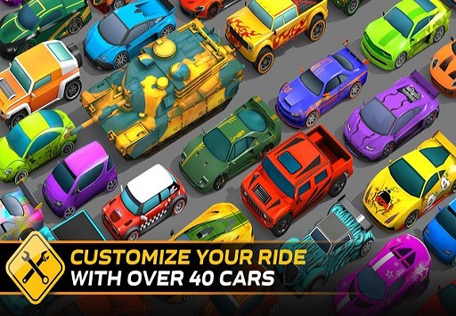 بازی ماشین های رنگ پاش | Splash Cars
