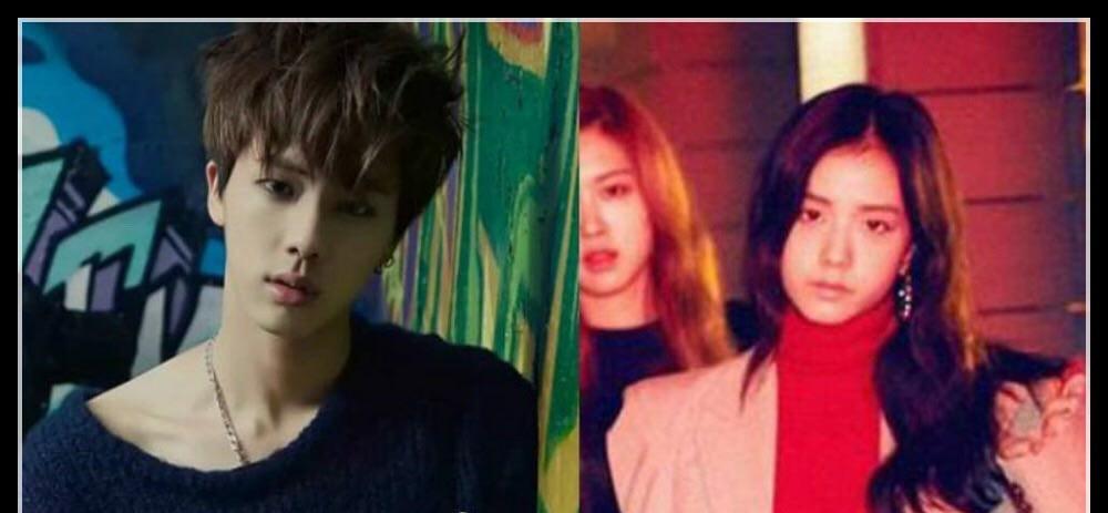 شباهت جيسو از گروه جديد بلك پينك و جين از گروه BTS ؟😯
