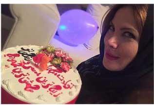 تصاویر دیدنی از جشن تولد همسر رضا صادقی