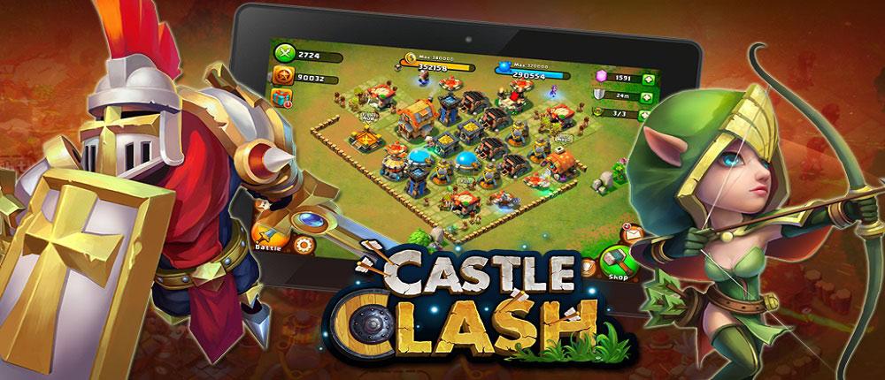 Castle Clash 1.2.95 – بازی کستل کلش اندروید – نسخه دیتادار + نسخه بدون دیتا