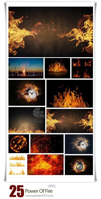 دانلود تصاویر با کیفیت با موضوع آتش