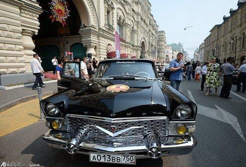 خودرو های کلاسیک و رژه آن ها+عکس