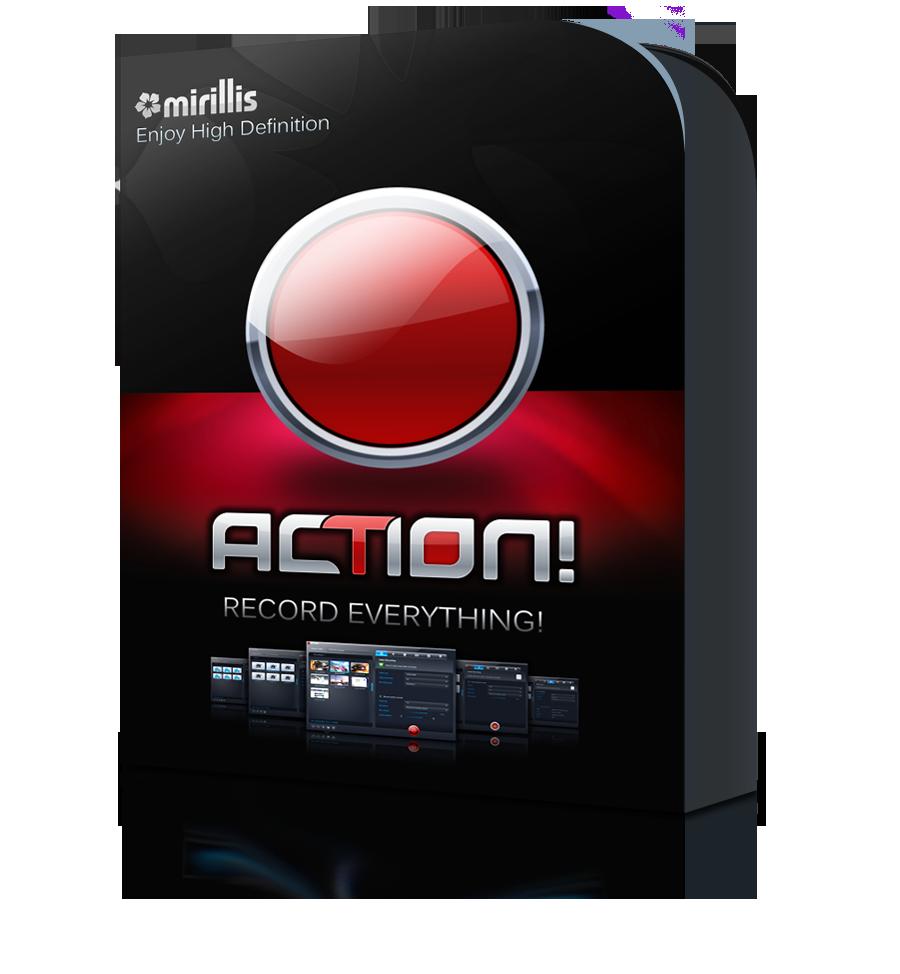 نرم افزار ضبط صفحه نمایش Mirillis Action 1.31.4
