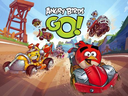 دانلود بازی مسابقه پرندگان خشمگین Angry Birds Go 2.1.6 – اندروید