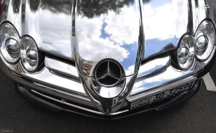ماشین های گران قیمت اعراب در انگلیس+عکس
