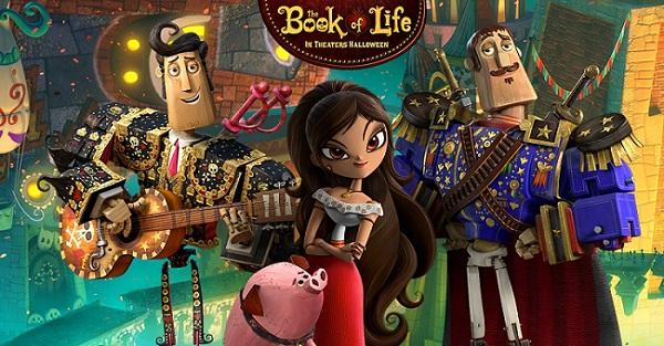 دانلود  تریلر انیمیشن The Book of Life 2014