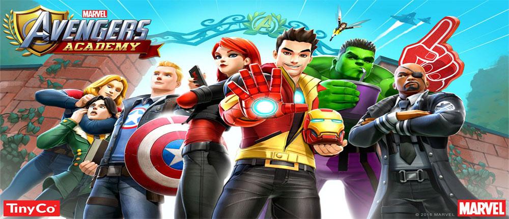 """دانلود بازی اندروید MARVEL Avengers Academy 1.2.0.1 – بازی ماجراجویی """"آکادمی انتقام جویان"""""""