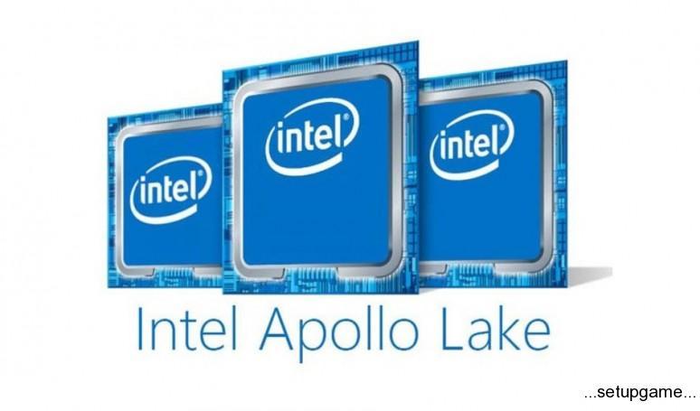 مشخصات فنی اولین پردازنده اینتل Apollo Lake منتشر شد