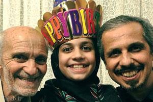 تصاویر بازیگران ایرانی به همراه خانواده شان