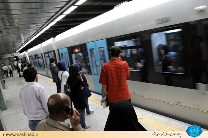 جابهجایی بیش از یک میلیون نفر مسافر توسط خط یک قطار شهری در دهه کرامت