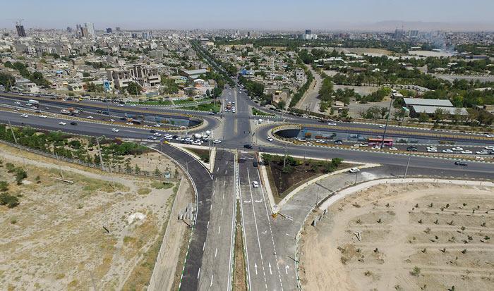 گزارش تصویری/ پروژه اتصال بولوار شهید نامجو و میدان جهاد به منطقه سیدی و فاز چهارم بولوار نماز