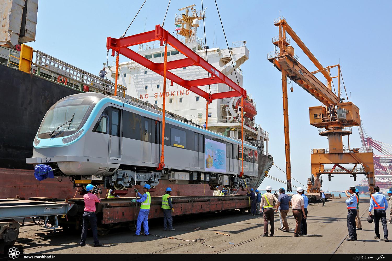 ورود ٨۵ واگن خط٢ قطار شهری تا آبانماه