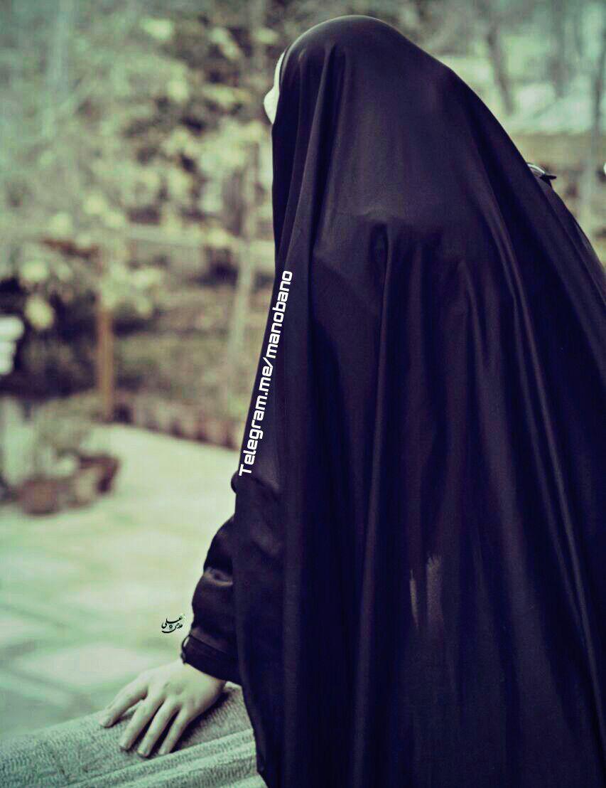 عکس از دختران چادری