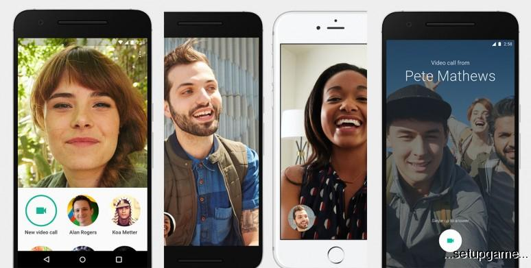 گوگل اپلیکیشن تماس تصویری Duo را برای دو پلتفرم اندروید و iOS منتشر کرد