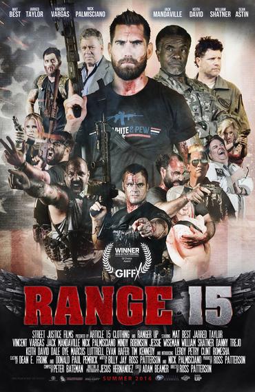 دانلود فیلم Range 15 2016 با لینک مستقیم