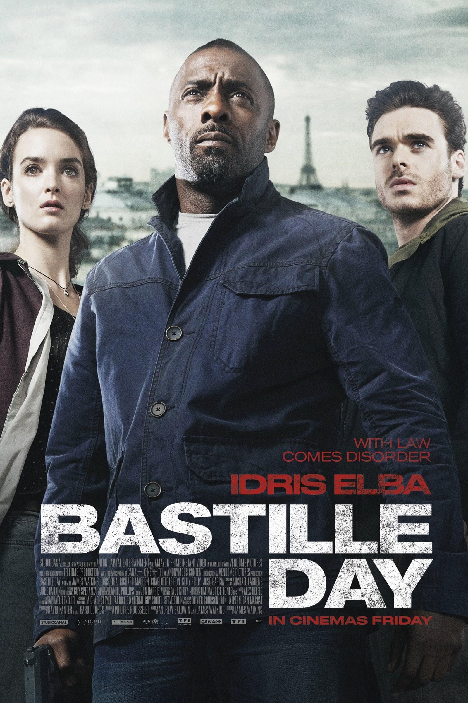 دانلود فیلم Bastille Day 2016