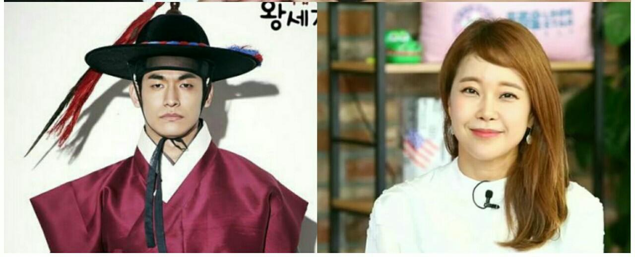 زوج هنری بک جی یونگ و جونگ سوک وون در برنامه ی تلویزیونی