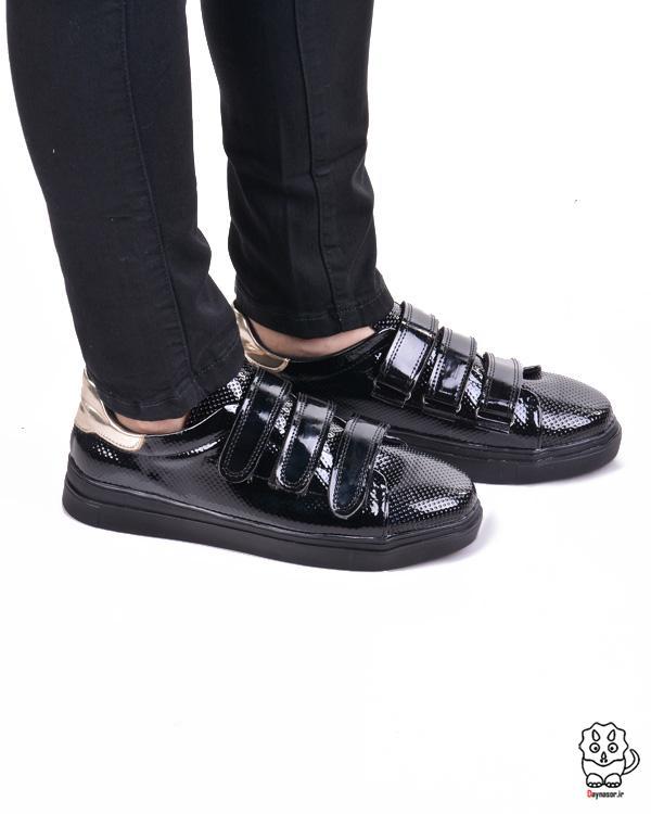 کفش ورنی اسپورت دخترانه