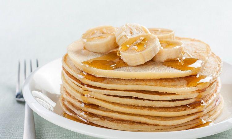 طرز تهیه پنکیک موز صبحانه ورزشکاران
