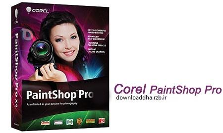ویرایش بی نظیر عکس های خود با Corel PaintShop Pro X9 v19.0.1.8
