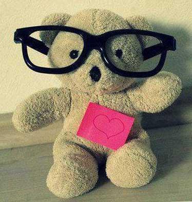 عکس خرس عروسکی برای پروفایل دخترونه
