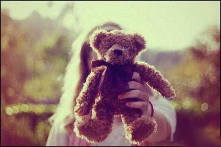 عکس پروفایل از خرس عروسکی