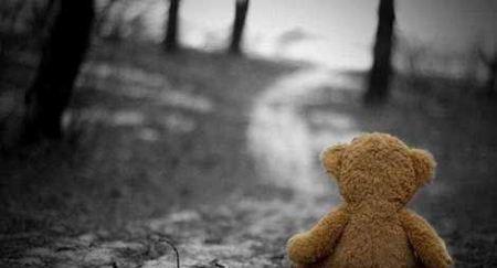 عکس تنهایی غم انگیز برای پروفایل خرس عروسکی