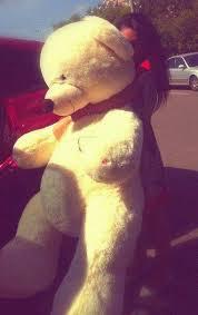 عکس خرس گنده و بزرگ عروسکی