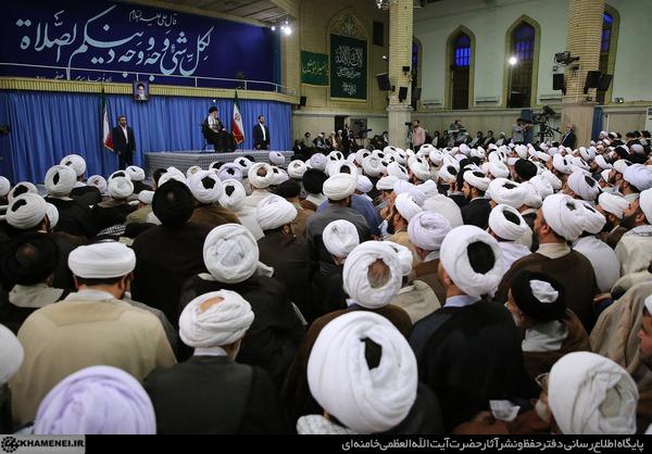 بیانات در دیدار ائمه جماعات مساجد استان تهران