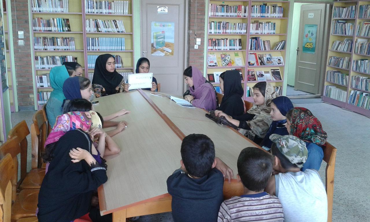 پنجمین نشست کتابخوان کتابخانه ای در کتابخانه ثامن الحجج (ع)