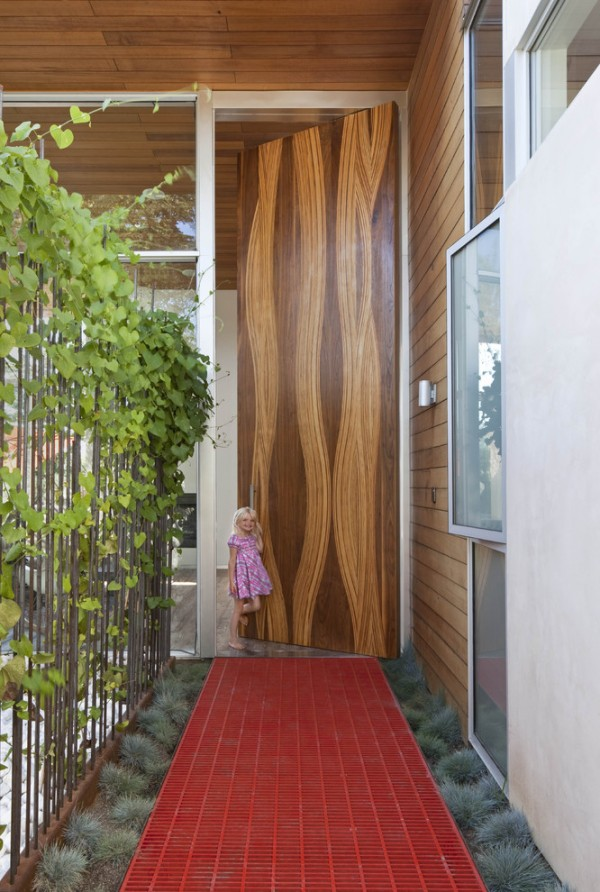 نمونه ایده هایی از درب  خانه های مدرن 2016