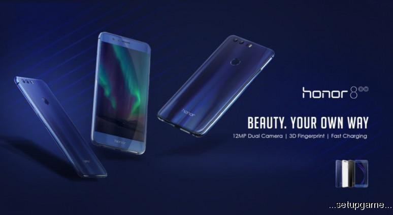 گوشی خوش قیمت و زیبای Honor 8 رسما توسط هواوی معرفی شد
