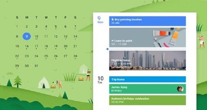 برنامه تقویم گوگل | Google Calendar
