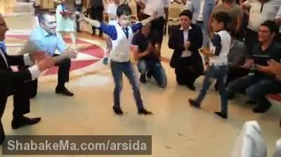 کلیپ بسیار زیبای رقص پا پسر بچه