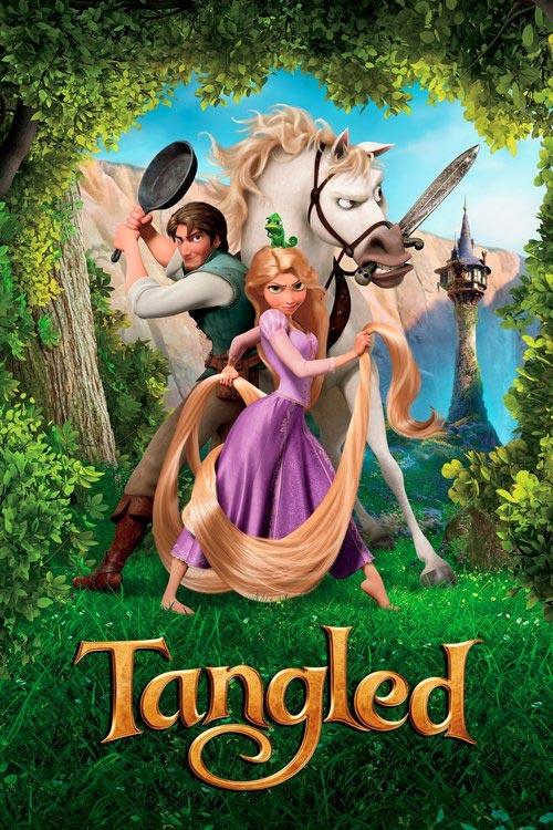 انیمیشن گیسو کمند Tangled 2010