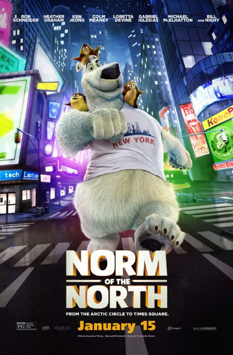 نورم از قطب شمال – Norm of the North 2016
